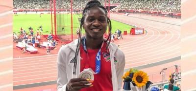 Namibie :  JO Tokyo, un polonais doute du sexe de la médaillée Christine Mboma