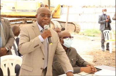 Côte d'Ivoire : Opposés  à leur déguerpissement, le Ministre Bouaké Fofana aux riverains  de  la  Riviera Palmeraie Anono (Djorogobité) : « Ces travaux sont nécessaires »