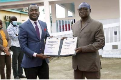 Côte d'Ivoire : Un  accord de partenariat entre  le PASS et la CNA-ESCOMCI pour le re...