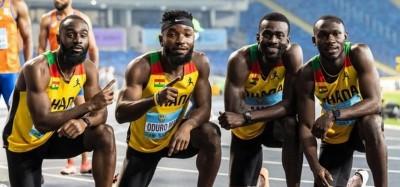 Ghana :  JO Tokyo, l'équipe de relais 4x100 m disqualifiée en finale