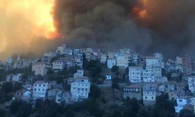 Tunisie-Algérie : Canicule à Tunis, 18 soldats périssent dans des incendies en Kabylie