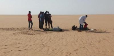 Algérie : En route pour la Tunisie à pied, six nigériens meurent de soif dans le désert