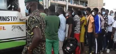 Ghana : 76 immigrants illégaux dont 72 togolais liés aux activités du QNET rapatriés