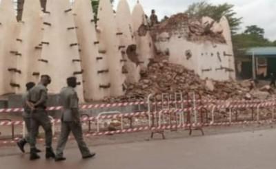 Burkina Faso : Effondrement partiel de la grande mosquée de Dioulassoba