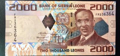 Sierra Leone :  Redénomination de la monnaie Leone, trois zéros à supprimer