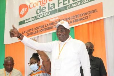 Côte d'Ivoire : Lors du 4e congrès, Farikou Soumahoro réélu pour un autre mandat de 5 ans à la tête de la FENACCI qui entend se muer en une centrale syndicale