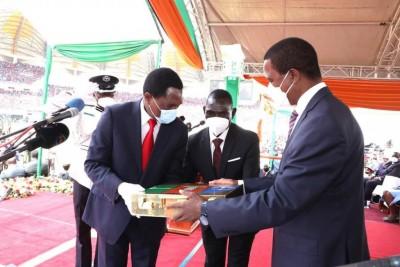 Zambie : Hakainde Hichilema prend officiellement les rênes du pays