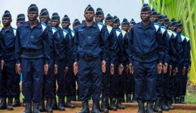 Centrafrique :   650 jeunes policiers prennent officiellement fonction pour renforcer la politique sécuritaire