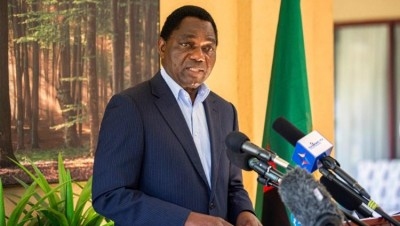 Zambie : Hakainde Hichilema limoge tous les commissaires de police
