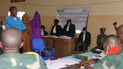 RDC : Sud–Kivu, 19 policiers et soldats condamnés à des peines de 12 mois à 20 ans de prison pour viols