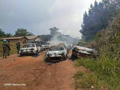 RDC : 04 morts dans une embuscade des ADF en Ituri, une dizaine de véhicules incendiés