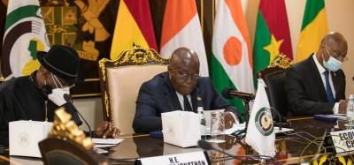 Cedeao :  Sommet virtuel sur la Guinée