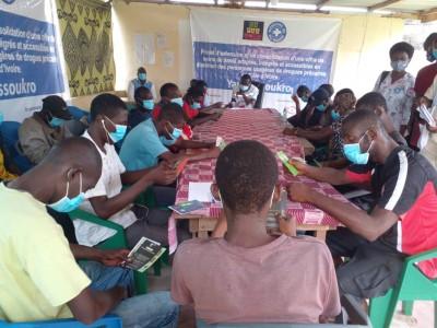 Côte d'Ivoire : Yamoussoukro, des consommateurs de drogues sensibilisés sur les overdoses et décès par overdoses