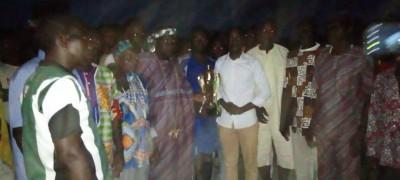 Côte d'Ivoire : Béoumi, afin de renforcer la cohésion sociale entre jeunes, un tournoi de football organisé