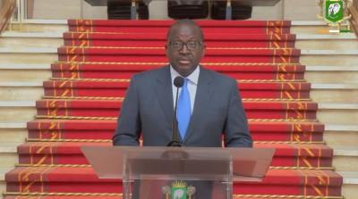 Côte d'Ivoire : Communiqué du Conseil National de Sécurité du jeudi 09 septembre 2021