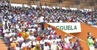 Côte d'Ivoire : Hommage du Woroba à Ouattara, le stade Losseni Soumahoro fait le plein à Séguéla