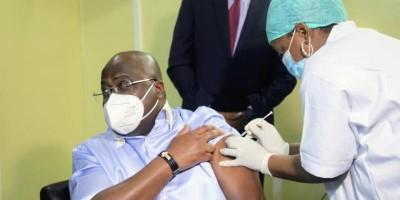RDC : Méfiant, le Président Tshisekedi se fait vacciner finalement contre le Covid-19