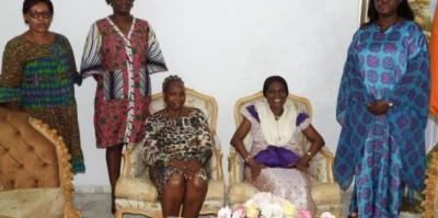 Côte d'Ivoire : Les femmes du Mouvement des Générations Capables à Simone : « Nous vous prenons comme une icône »