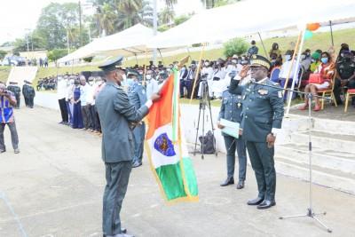 Côte d'Ivoire : Passation de commandement, le Colonel Bes Joseph Arthur aux commandes de l'EMPT