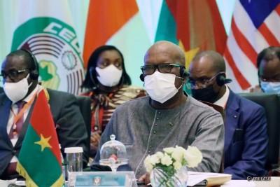 Burkina Faso : Situation en Guinée, le président Kaboré à Accra pour le deuxième sommet extraordinaire de la CEDEAO