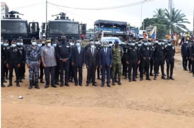 Côte d'Ivoire : Lutte contre la criminalité sur toutes ses formes, 3000 hommes mobilisés pour la sécurisation et l'incivisme  routier  dans le  District d'Abidjan