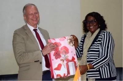 Côte d'Ivoire : L'Université de Daloa dotée d'une salle technique inaugurée par l'Ambassadeur d'Allemagne