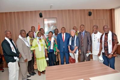 Côte d'Ivoire : Conditions de travail de ses agents, subvention  aux acteurs de la presse en situation de précarité, Amadou Coulibaly marque deux grands points