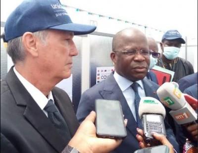 Côte d'Ivoire :   COVID-19, le gouvernement avec l'appui de l'UNICEF reçoit 816.000 d...