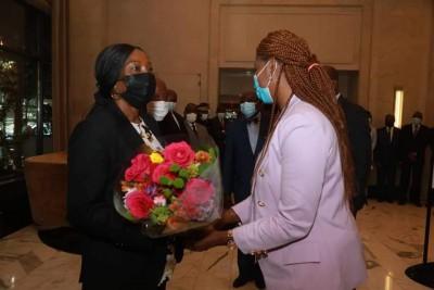 Côte d'Ivoire :  Kandia Camara s'est envolée hier pour les USA pour représenter Alass...