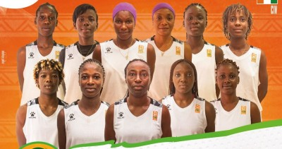 Côte d'Ivoire : Afrobasket Dames 2021, les Ivoiriennes vainqueuses des tunisiennes su...