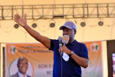 Côte d'Ivoire :  Rentrée politique de la JUNCI, Adama Bictogo à propos de la succession de Ouattara : « il n'y a pas d'ambitions d'aucun d'entre nous sans sa volonté  »