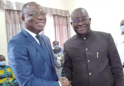 Côte d'Ivoire : Au congrès du CAP-UDD, Pickass affirme que la place de Gervais Coulibaly est auprès de   Gbagbo