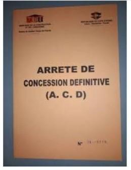 Côte d'Ivoire : Nomenclature des pièces à fournir pour une demande d'ACD à partir d'u...