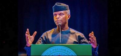 Nigeria :  Exhortation d'Osinbajo à l'Afrique pour des élections justes
