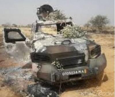 Mali : Quatre soldats perdent encore la vie suite à l'explosion d'une mine