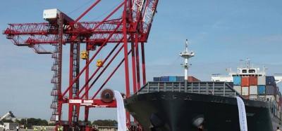 Togo :  Le Port de Lomé classé 4e port à conteneurs en Afrique