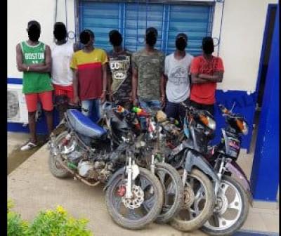 Côte d'Ivoire : Des individus spécialisés dans les vols de motos mis sous les verrous