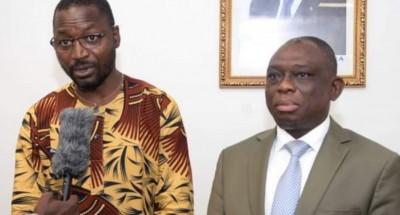 Côte d'Ivoire : Reçu par KKB,  rentré d'exil, le Fesciste Serge Koffi demande pardon...