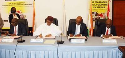 Côte d'Ivoire : A Niamey, Versus Bank signe deux conventions de garantie avec le FSA...