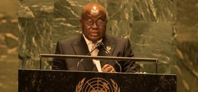 Guinée :  Akufo-Addo révèle la volonté du CNRD de libérer Condé