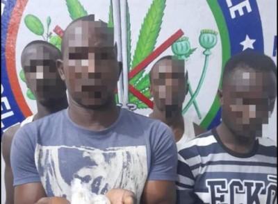 Côte d'Ivoire : Daloa, quatre dealers présumés mis aux arrêts par la Gendarmerie