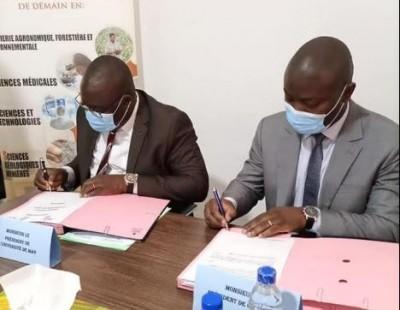 Côte d'Ivoire :    Employabilité des étudiants, l'Université de Man crée un réseau de...