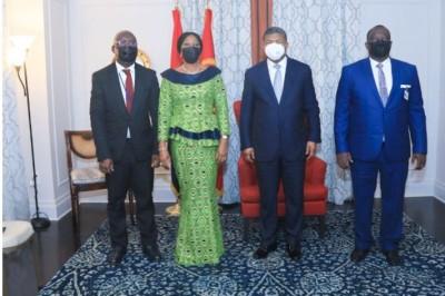 Côte d'Ivoire : A New York,  Kandia Camara porteuse d'un message de Ouattara  à  João Lourenço et évoque la réforme de la CEDEAO avec l'envoyé du Nigeria