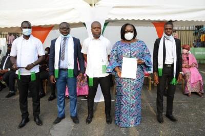 Côte d'Ivoire : Fonction Publique, 2550 dossiers de candidature aux concours administratifs rejetés, Anne Ouloto rassure les syndicats