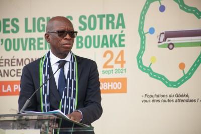 Côte d'Ivoire : Bouaké, le DG de la SOTRA espère que les bus ne seront pas vandalisés