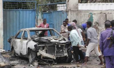 Somalie : L'explosion d'une voiture piégée près du palais présidentiel fait 8 morts