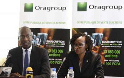 Oragroup annonce une forte progression de son résultat net pour le 1er semestre 2021