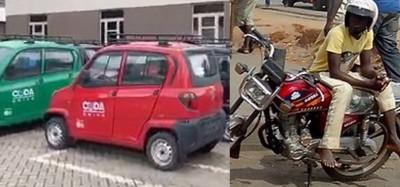 Ghana :  Projet « troc » pour conducteurs de motos-taxis contre mini-voitures