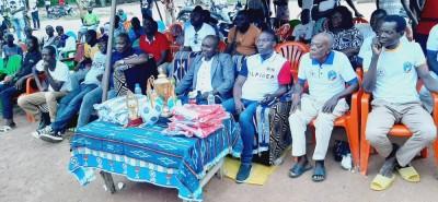 Côte d'Ivoire : Bouaké, estimant que le pays a besoin de cohésion sociale, un cadre réunit plusieurs jeunes à Gnankoukro autour d'un tournoi