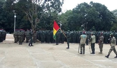 Guinée : Plus de 600 soldats déployés au Mali sous l'ère Mamady Doumbouya